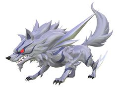 View an image titled 'Fenrir Art' in our World of Final Fantasy art gallery featuring official character designs, concept art, and promo pictures. Final Fantasy Characters, Final Fantasy Art, Fictional Characters, Monster Design, Monster Art, Pen & Paper, Final Fantasy Collection, Creature Design, Fantasy World