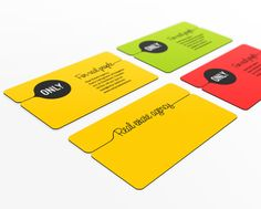 Creative examples of artistic business cards by iprint express only colorful business cards colourmoves
