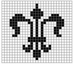 Fleur de Lis Free #Crochet Pattern