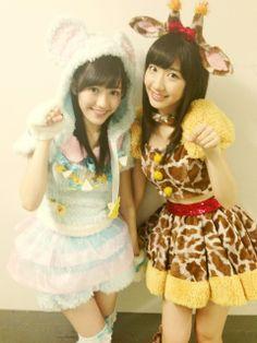 Mayuki ~♡- - AKB48 members Mayu Watanabe & Yuki Kashiwagi - -Yuri Love♡