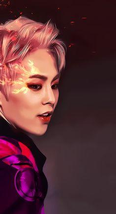 #Xiumin #EXO #Fanart Exo Xiumin, Baekhyun Fanart, Kpop Exo, Exo Kai, Kpop Fanart, Exo Album, Exo Lockscreen, Xiuchen, Exo Fan Art
