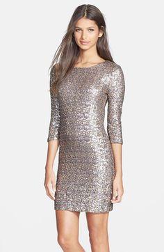 BB Dakota 'Valet' Sequin Body-Con Dress