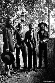 The Beatles - Final Photo session 1969 - Tavlor på canvas - Photowall