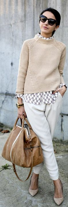 Freakin Love this Style!!!! Fall look