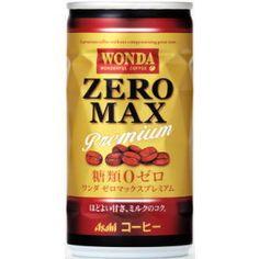 Asahi WONDA ZERO MAX premium | can layout