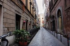 Windows and streets in italy
