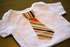 Baby Onsie Tie Tutorial Applique Onesie, Tie Onesie, Onesies, Baby Onesie, Onesie Quilt, Boy Onsies, Necktie Quilt, Sewing For Kids, Baby Sewing