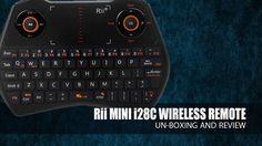 Rii i28C Mini Wireless Backlit Touchpad Keyboard  Gamepad-feeling - Full... Keyboard With Touchpad, Computer Keyboard, Raspberry Pi 2, Feelings, Mini, Youtube, Keyboard, Youtubers, Youtube Movies