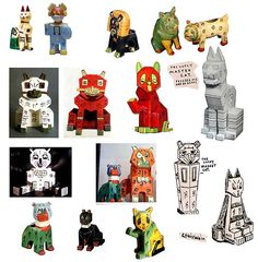 An interview with George Honchar about collecting Wain cats Louis Wain Cats, English Artists, Small Cat, Vintage Artwork, Cat Art, Caricature, Ceramic Art, Art Decor, Graphic Art