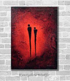 Acrylmalerei - Kunstgalerie Winkler Acrylbild abstrakt Unikat Neu - ein Designerstück von Kunstgalerie-Winkler bei DaWanda