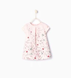 Branches jacquard dress - Dresses and Jumpsuits - Baby girl months - 4 years) - KIDS Cute Girl Dresses, Little Girl Dresses, Simple Dresses, Moda Kids, Frocks For Girls, Jacquard Dress, Cute Outfits For Kids, Overall, Glamour