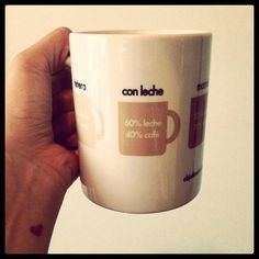 Cafe a la venezolana Coffee Mug. $20.00, via Etsy.