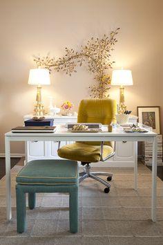 pretty home office