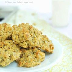 Peanut Butter Chia Oatmeal Breakfast Cookies - easy, healthy, and kid approved! | Back To The Book Nutrition