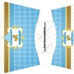Envelope Fritas Carrossel Azul