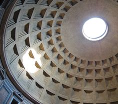 The dome and the oculus of the Pantheon, from Rick Steves Pocket Rome