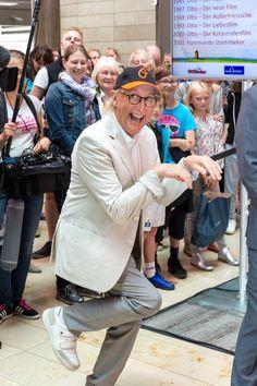Otto Waalkes in Aktion bei uns in der #EuropaPassage #EuropaPassageHamburg #OttoWaalkes #smart