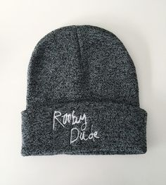 Image of Grey Beanie Hat