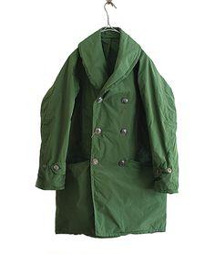 COMOLI ナイロンマッキノウコート(GREEN) http://floraison.shop-pro.jp/?pid=87459170