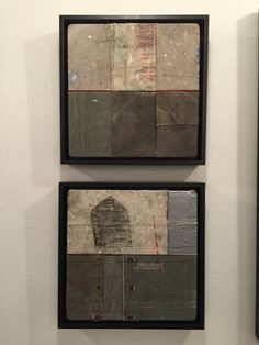 Alcides Rivas | Mixed Media | 11,5x11,5 in | 2015 Mixed Media, Collage, Paintings, Ceramics, Home Decor, Living Spaces, Scenery, Artists, Art