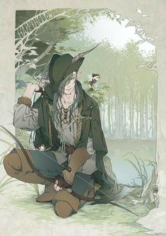 Nikkari Aoe as Robin Hood (?)
