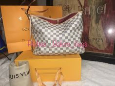 Beautiful Coral Lining/ 2 ninety nine My Bags, Louis Vuitton Damier, Coral, Beautiful, Fashion, Moda, Fashion Styles, Fasion