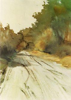 """Levende zandweg, Mol"" by Swa Claes"