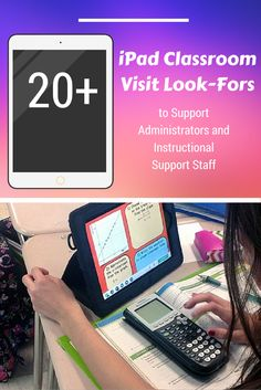 20+ iPad Classroom Visit Look-Fors to Support Administrators and Instructional Support Staff: http://www.edutopia.org/blog/ipad-classroom-visit-look-fors-lisa-johnson