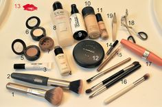 Stuffs for Make-up
