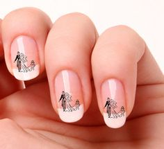20 Nail Art Decals Transfers Stickers #353 - Wedding Bride & Groom in Health & Beauty, Nail Care, Manicure & Pedicure, Nail Art Accessories | eBay!