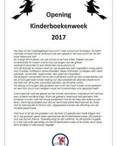 Opening Kinderboekenweek 2017 #kbw
