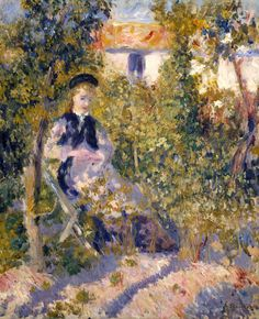 Pierre-Auguste Renoir: Nini in the Garden, 1876