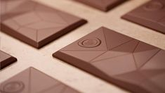 for a new chocolate assortment, fpm (factor product munich) was commissioned by dallmayr to create a new product and package design. Chocolates, Chocolate Art, Chocolate Molds, Chocolate Shapes, Cacao Chocolate, Luxury Chocolate, Le Manoosh, Cocoa Nibs, Mould Design