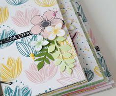 Le scrap d 'Opsite: Un mini album coloré pour Florilèges Design