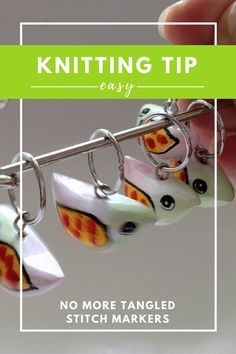 Knitting Tip: Working with Dangly Stitch Markers