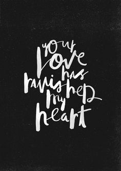 """Your Love - inspired by the song """"Closer"""" by Amanda Cook - available on the live album """"For the Sake of the World"""" by Bethel Music """"Your love has ravished my heart and taken me over. And all I want is..."""