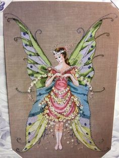 Mirabilia Fairy Roses Fairy Sampler Cross Stitch Pattern | eBay