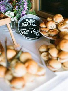 Midnight Snack Ideas for Wedding