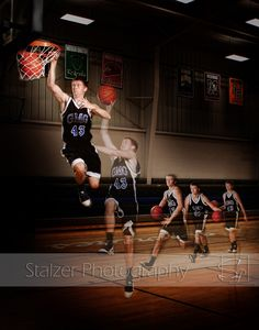 Senior Pictures / Basketball / Dunk