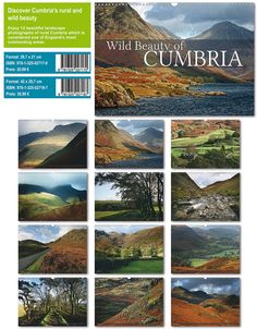 Wild Beauty of Cumbria 2015 Calendar