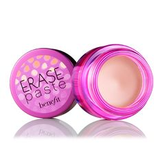 Erase Paste is a can't live without!  I do not leave the house without this for under my eyes and on my face.  I really does brighten up your face and cover up the imperfections.