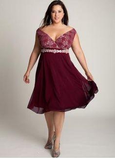Tendencias vestidos tallas grandes