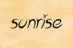 only music saves: Playlist : Sunrise [part 1].