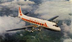 Capital Airlines.Operated: 1941 - 1961. (Had its origins as Pennsylvania Central Airlines from 1936) Cause and result of demise: Merged into United Airlines Interesting fact: In 1948, the first airborne television was installed on a Capital airplane. (rioleo.org)
