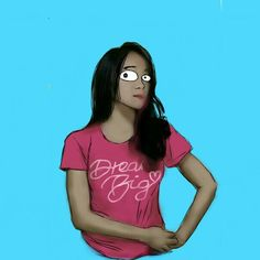 Woman Indonesian #digitalpainting #digitalart #art #people #autodesksketchbook