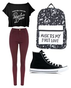 """""""Untitled #54"""" by spikeytwister on Polyvore featuring Converse"""