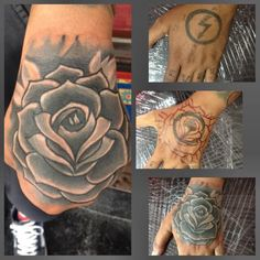 coverup roses tattoo
