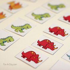 Dinosaur math busy bags for kids