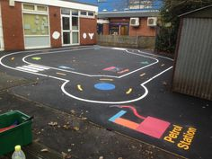 Playground Road Track recently installed check out our website www.first4playgrounds.co.uk to see more of our latest playground markings installations and news.