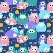 Cat AND Yarn Art!